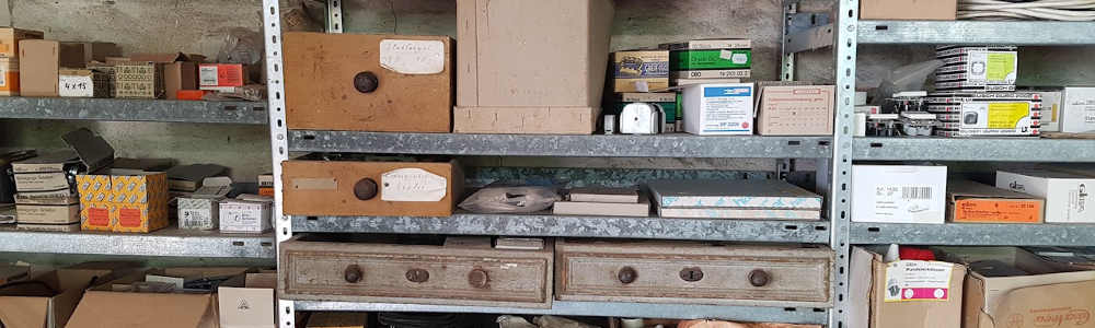 倉庫の不良在庫